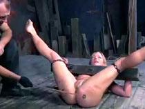 Grief of torturd slave