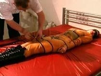 Mummification  surrounding a..