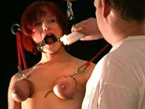 Boobs bondage pain
