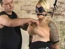 Slavegirl in bondage