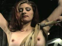 Bondage Leads To Pussy Torture, Which Then Leads To Teat Pangs Complete Involving