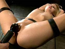 Blonde fucked thither..
