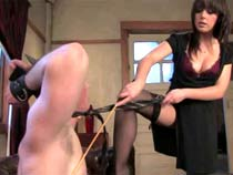Domina fucks muscle sub