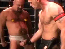 Fetish force gay BDSM video