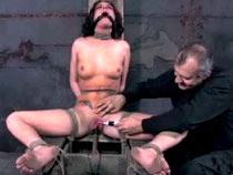 Taylor Mae hoggish bondage..