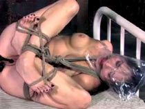 Orgasms and bondage