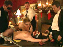 New Year BDSM orgy