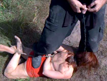 Outdoor hog tie