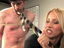 Boss gets fucked by his secretary