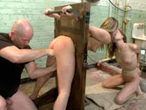 Group BDSM session