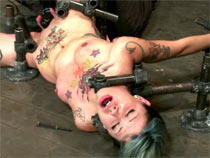 Krysta Kaos locked helpless