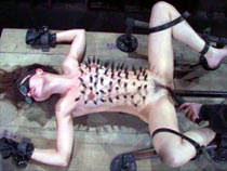 Sasha Grey restrained and harrowing