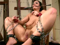 Margarita chained and fucked