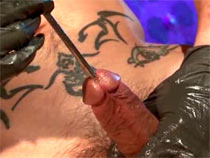 Urethral play alongside get under one's bar