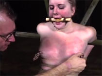 Kylie gets BDSM session