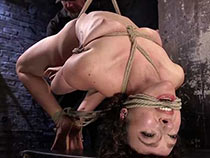 Two fucking bondage whores