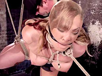 Teen girl Jessie tied involving