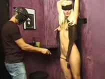Blindfolded and spanked..