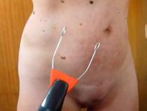 Electro stimulating wand