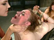 Wired pussy torture video
