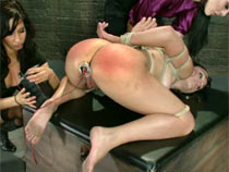 Leyla Black dominated by two..