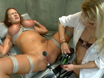 Pervert doctor torturing her patient